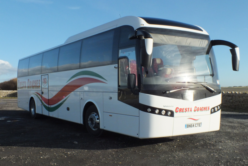 53 Seater Coach Image